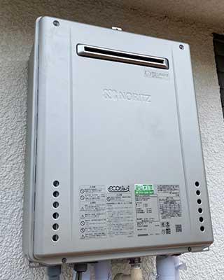 2020年10月18日、横浜市瀬谷区にお住まいK様宅のガス給湯器をノーリツ「GT-C2062SAWX BL」にお取替させていただきました。