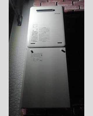 2020年10月18日、東京都町田市にお住まいT様宅のガス給湯器をリンナイ「RUX-A1616W-E」にお取替させていただきました。