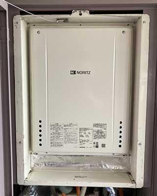 2020年10月20日、横浜市金沢区にお住まいK様宅のガス給湯器、ノーリツ「GT-2427SAWX-H」をノーリツ「GT-2460SAWX-H-1 BL」にお取替させていただきました。