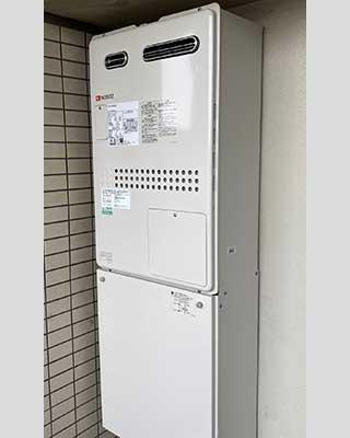 2021年1月28日、東京都三鷹市にお住まいH様宅のTES熱源機、東京ガス「FT4204ARSAW3QU(GTH-2434AWX3H)」をノーリツ「GTH-2444AWX3H-1 BL」にお取替させていただきました。