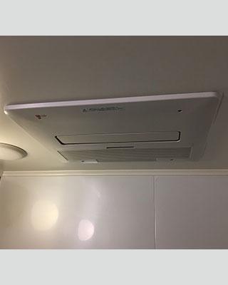 2021年2月24日、東京都世田谷区にお住まいO様宅の浴室暖房乾燥機、東京ガス「BBD-3301ACSK-J3」をノーリツ「BDV-4104AUKNC-J3-BL」にお取替させていただきました。