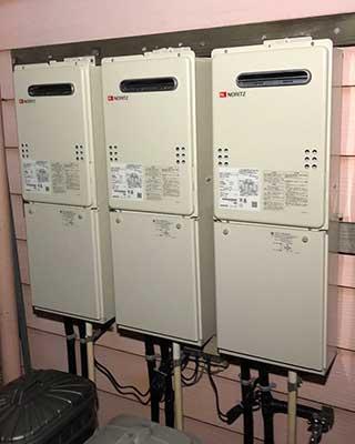 2021年1月26日、横浜市港北区にお住まいI様宅のガス給湯器、ノーリツ「GQ-2037WS」をノーリツ「GQ-2039WS-1」にお取替させていただきました。