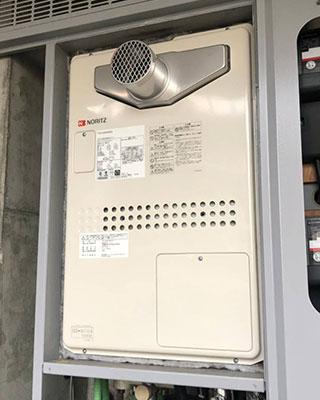 2021年2月25日、東京都江東区にお住まいN様宅のTES熱源機、東京ガス「FT4204ARS4SW3QU(GTH-2434SAWX3H-T)」をノーリツ「GTH-2444SAWX3H-T-1 BL」にお取替させていただきました。