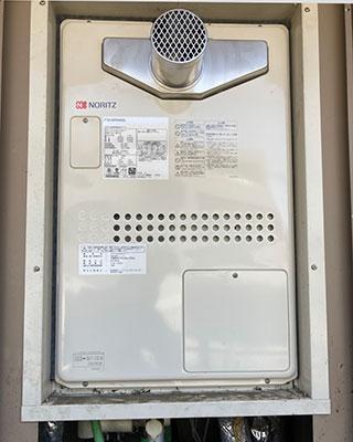 2021年4月20日、東京都世田谷区にお住まいA様宅のガス給湯器、ノーリツ「GTH-2413AWXH-T」をノーリツ「GTH-2444AWX3H-T-1 BL」にお取替させていただきました。