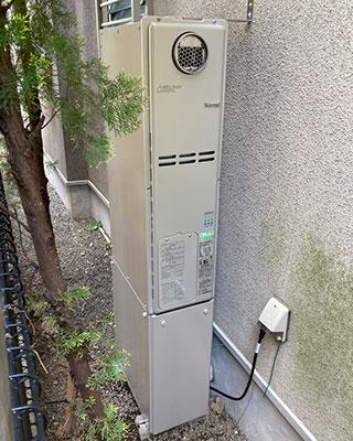 2021年4月22日、東京都世田谷区にお住まいT様宅のTES熱源機、東京ガス「XT4205LRSAW3C(GH-S247ZWS)」をリンナイ「RUFH-SE2406AW2-3」にお取替させていただきました。