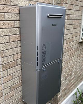 2021年6月20日、横浜市泉区にお住まいF様宅のガス給湯器、リンナイ「RUF-2400SAW」をリンナイ「RUF-E2406AW」にお取替させていただきました。