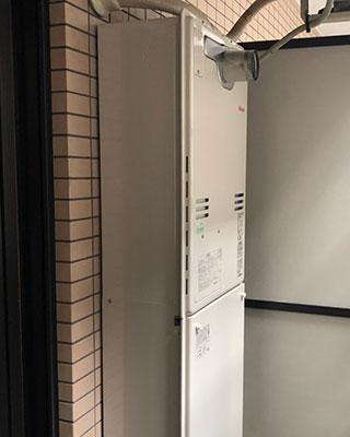 2021年6月20日、横浜市中区にお住まいK様宅のTES熱源機、東京ガス「IT-2801ARS4-AQ(RUFH-V1612AT)」をリンナイ「RUFH-A1610AT」にお取替させていただきました。