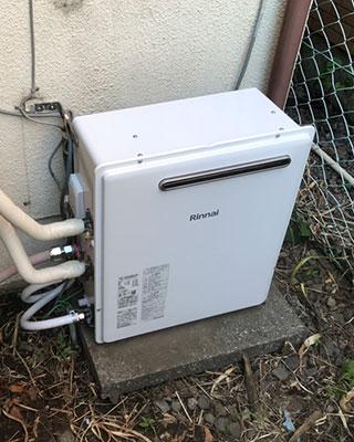 2021年7月28日、横浜市中区にお住まいT様宅のガス給湯器、東京ガス「KG-A820RFA-EA1」をリンナイ「RUF-A2003SAG(B)」にお取替させていただきました。