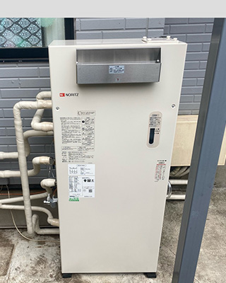2021年9月26日、東京都国分寺市にお住まいS様宅の石油給湯暖房熱源機、ノーリツ「OTH-4701AY」をノーリツ「OTH-4711AY BL」にお取替させていただきました。