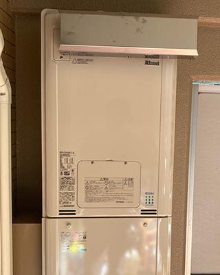 2021年10月24日、横浜市保土ヶ谷区にお住まいY様宅のTES熱源機、東京ガス「IT-4201ARS2-SW3Q(RUFH-V2400SAA2-3)」をリンナイ「RUFH-E2405AA2-3(A)」にお取替させていただきました。